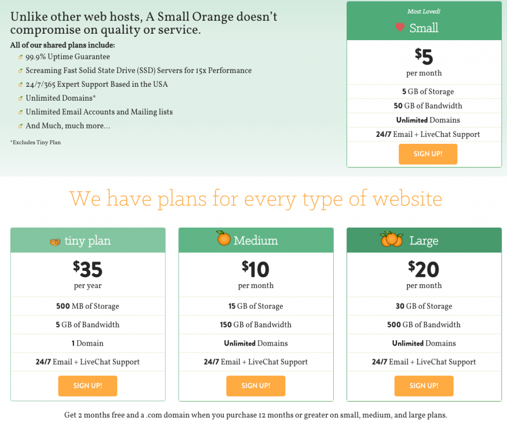 Fast_Shared_Web_Hosting_Plans_-_A_Small_Orange